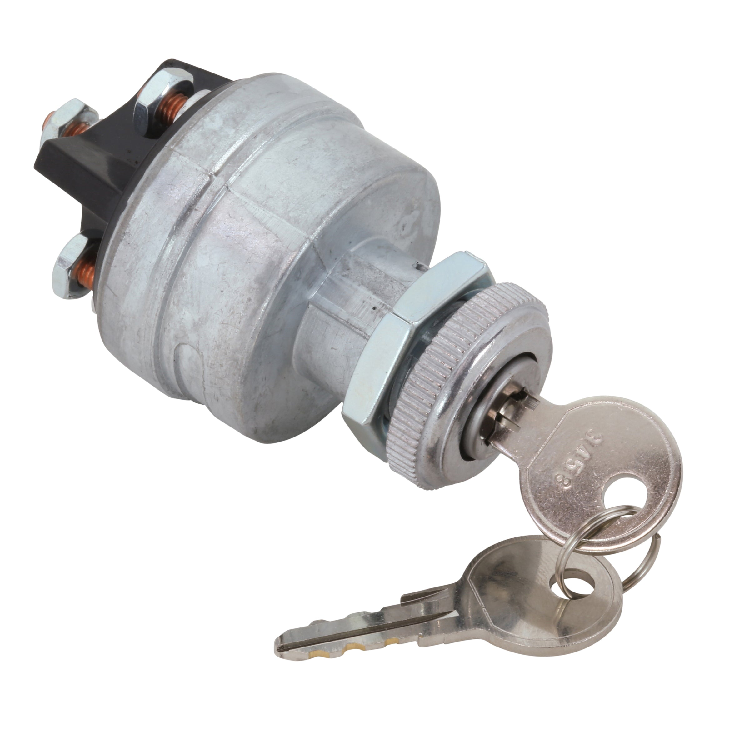 Universal Ignition Switch with Cylinder and Keys • 1932-48