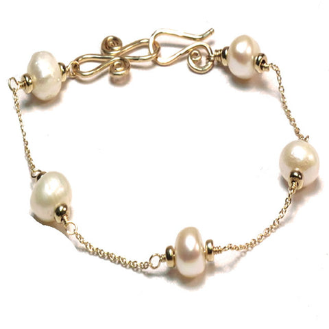 Pearl Bracelet - Choice of Stone