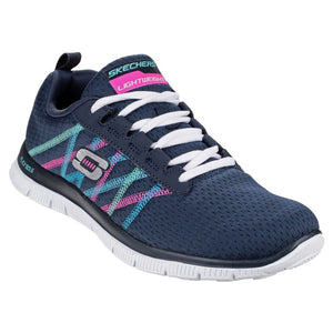 Skechers SK11885 NVMT Flex Appeal Something Fun Trainer
