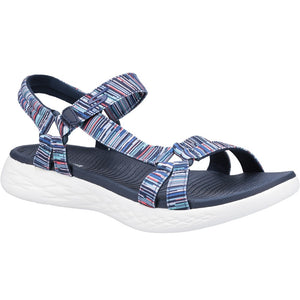 Skechers 140013 On The Go 600 Electric Velcro Sandal