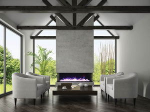 50-TRU-VIEW-XL – 3 Sided Electric Fireplace - Electric Fireplace Company