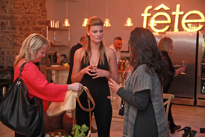 My Introduction to Fête Events: Enright Cattle Company's Leather Launch