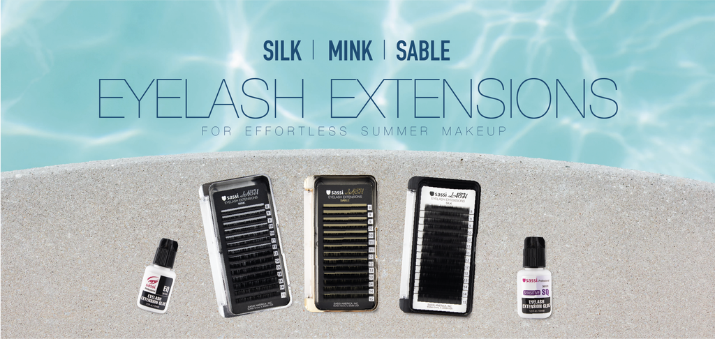 Sassi Eyelash Extension in Silk Mink Sable