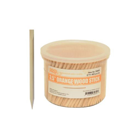 Orange Wood Stick