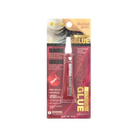 [BLISTER ITEM] LATEX FREE Eyelash Glue 1/6oz DARK