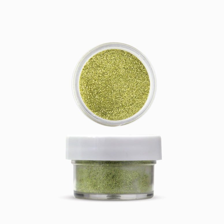 Dip & Acrylic GLITTER Powder - Yellow Gold