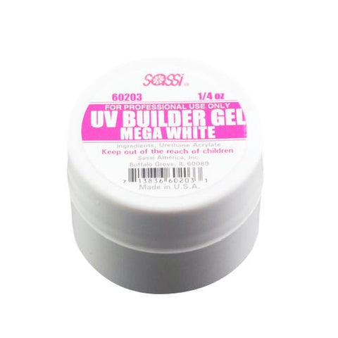 UV BUILDER Gel Mega White