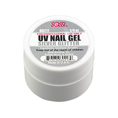 UV COLOR Gel Glitter/Silver
