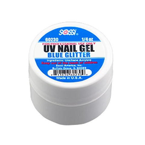 UV COLOR Gel Glitter/Blue