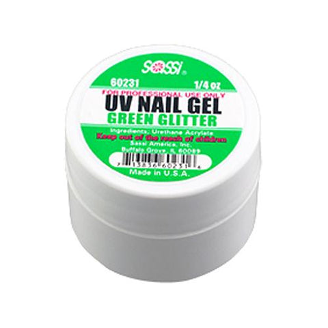 UV COLOR Gel Glitter/Green