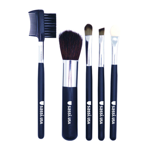 Makeup Brush Set - 5pcs/set