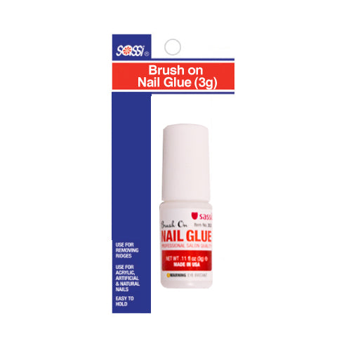 [BLISTER ITEM] Nail Glue 3g - Brush on