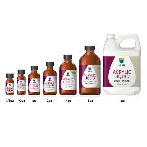 Acrylic Liquid 1/2oz