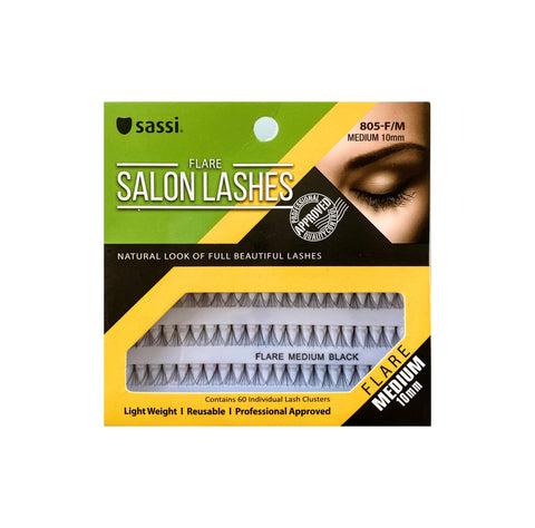Salon Flare Lashes 10MM Medium