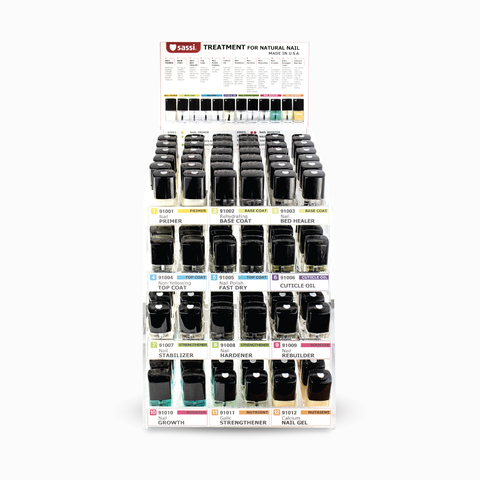 Nail Treatment Display Rack