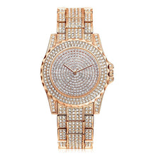 LVPAI : Three Hand Gold Rose-Gold or Silver Tone Stainless Stell Watch