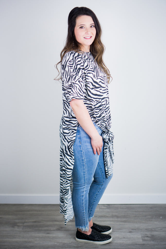 Z Supply Zebra Maxi Tee