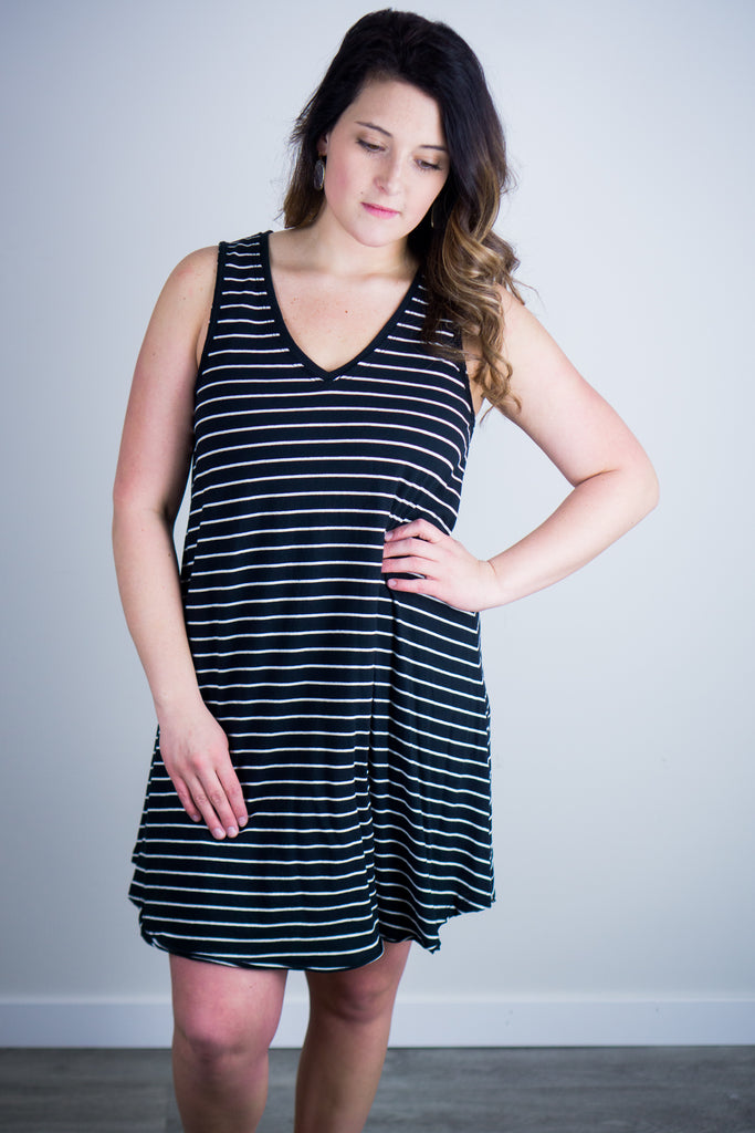 Z Supply Yuma Stripe Linen Breezy Dress