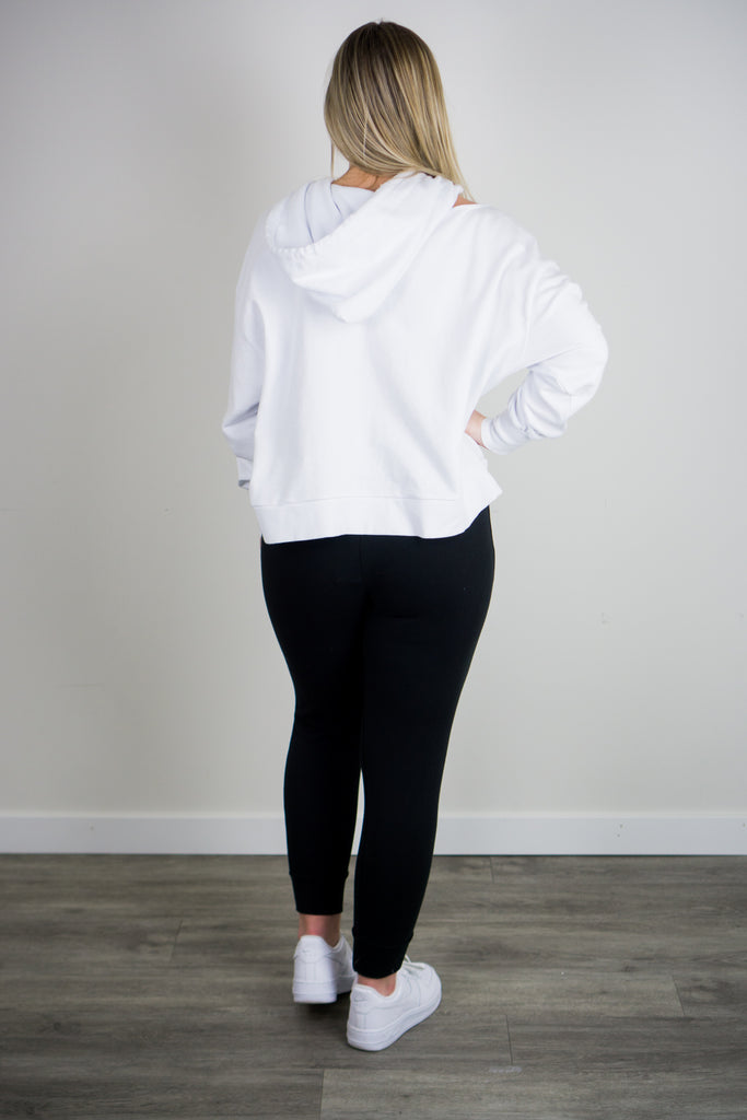 Z Supply Jerri Cut-Out Terry Sweatshirt
