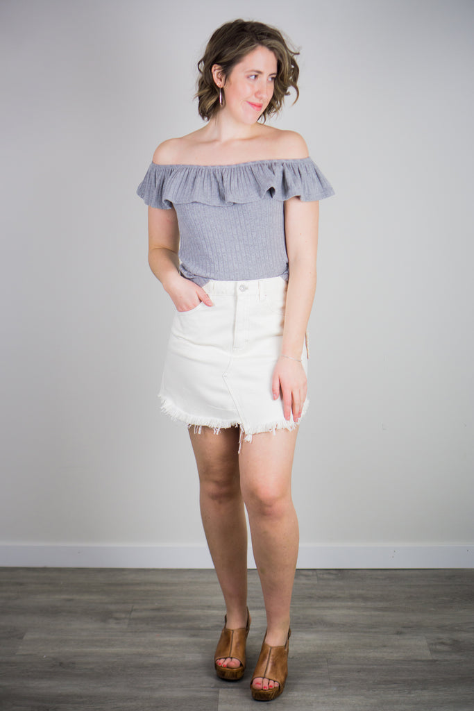 BB Dakota For The Frill Of It Top