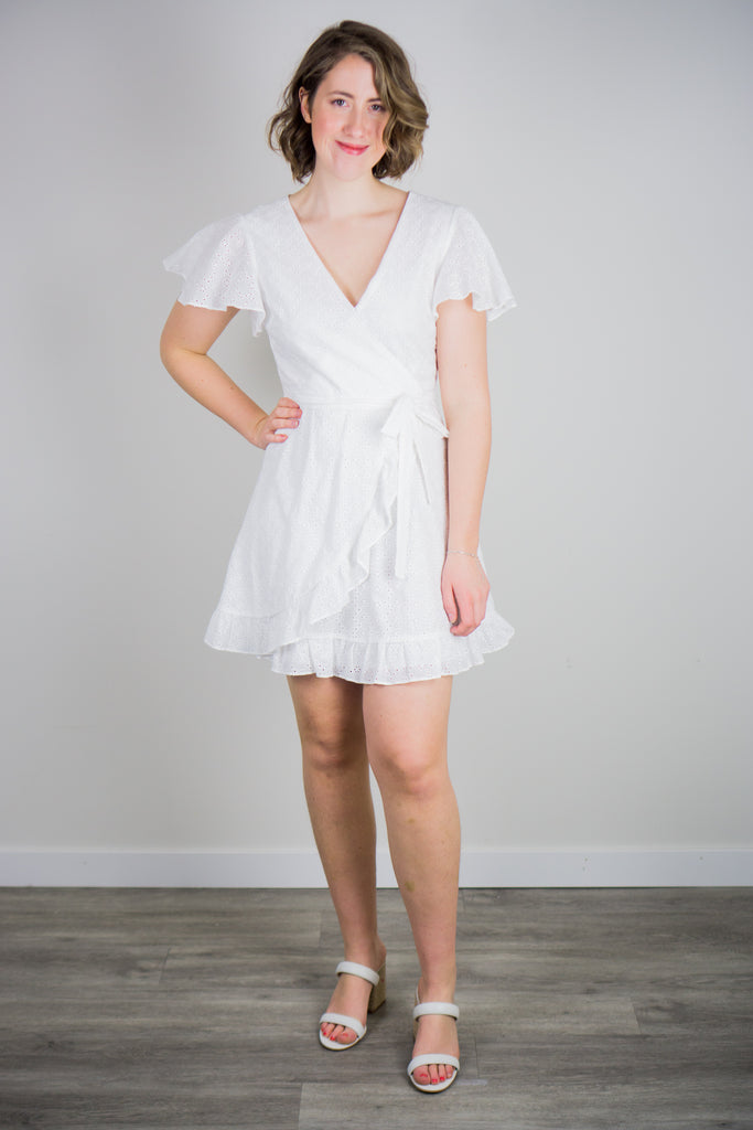 BB Dakota Easy on the Eyelet Dress