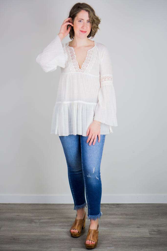 White Crow Maya Top
