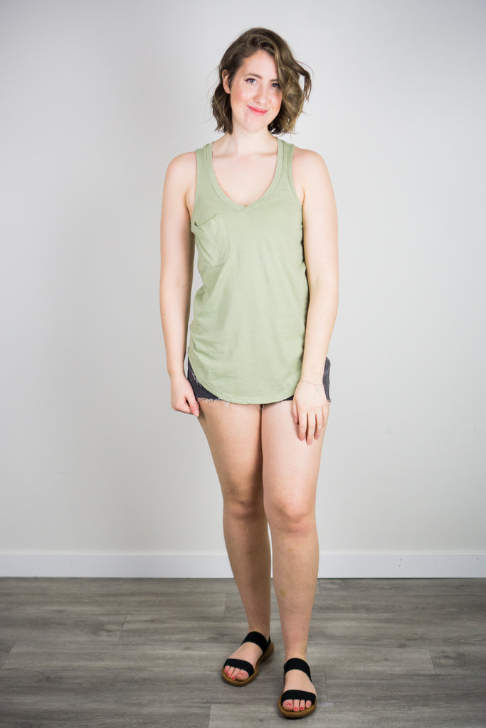 Z Supply Pocket Racer Tank