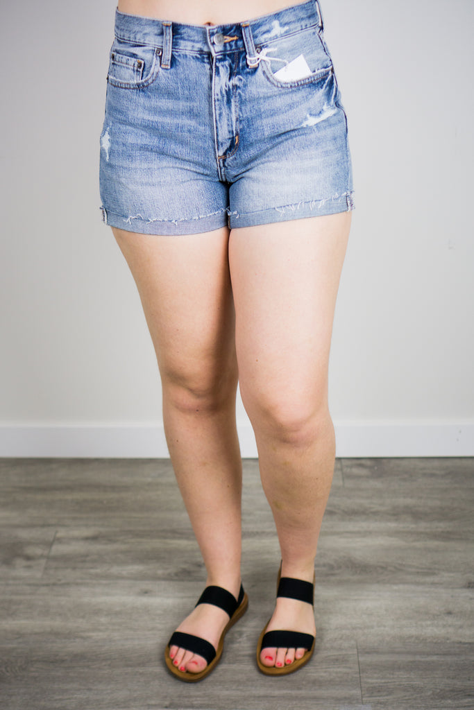 Pistola Jamie High Rise 90's Cuffed Shorts