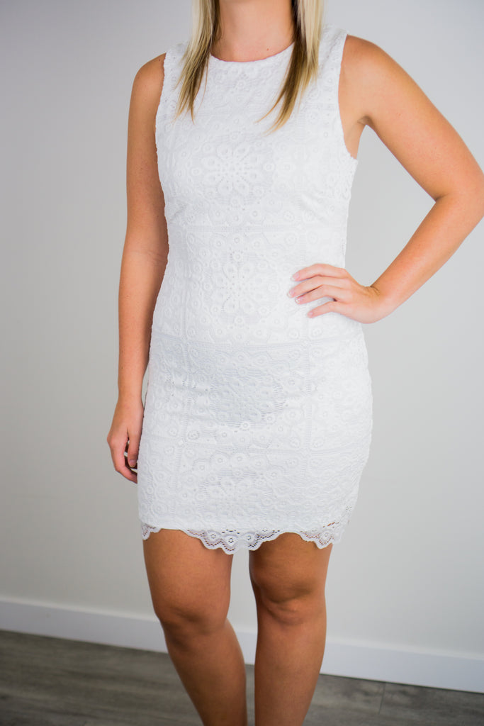 BB Dakota Ace Of Lace Dress