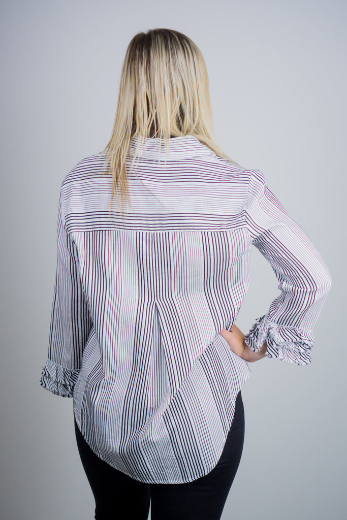 Sweet Ruffle Shirt