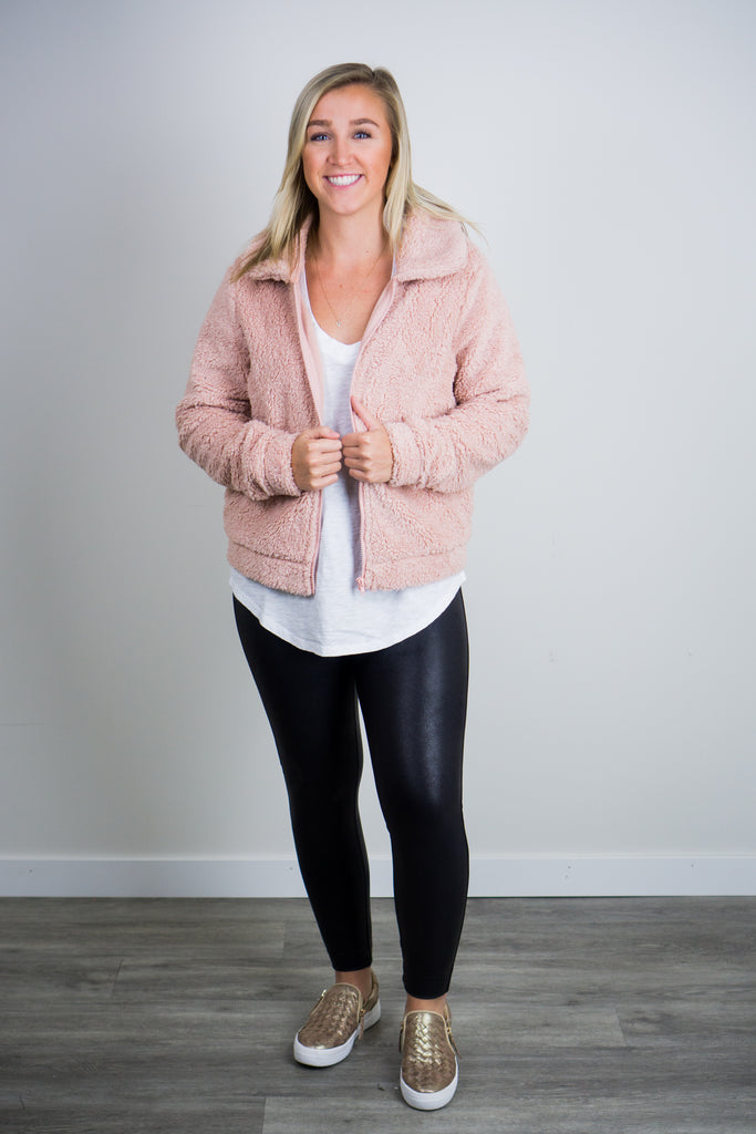 Z Supply Sherpa Crop Jacket
