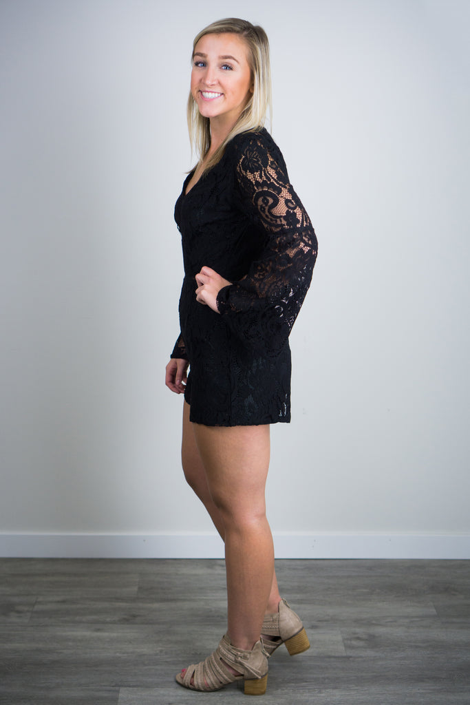 BB Dakota Know Your Lace Romper