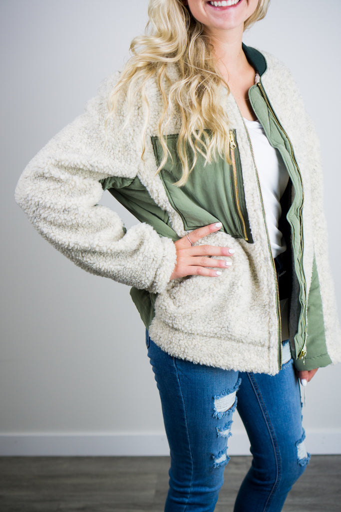 Free People Irvington Sherpa Jacket