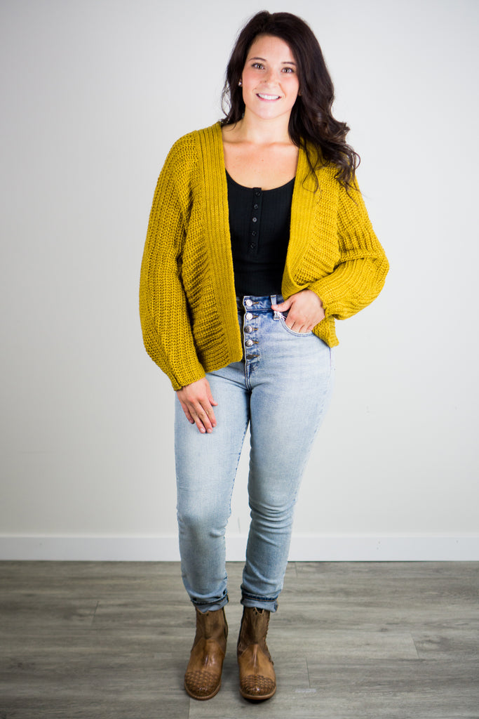 BB Dakota Knit Rewind Cardigan