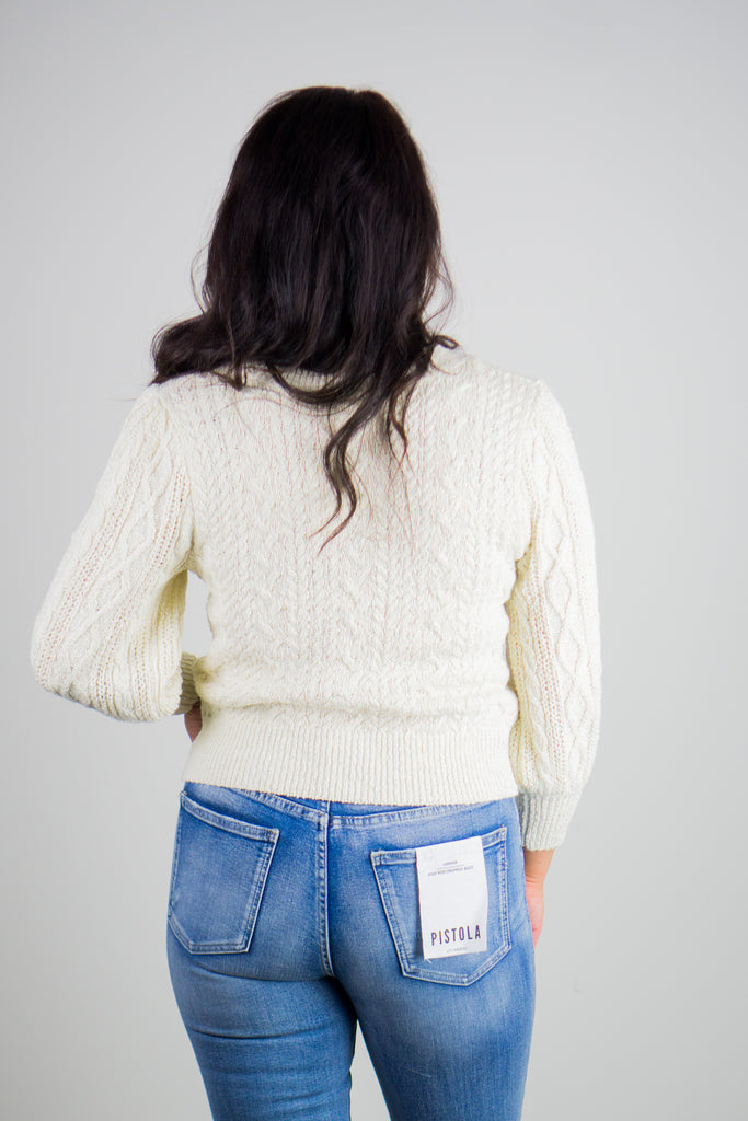 Free People Villa Cable Sweater