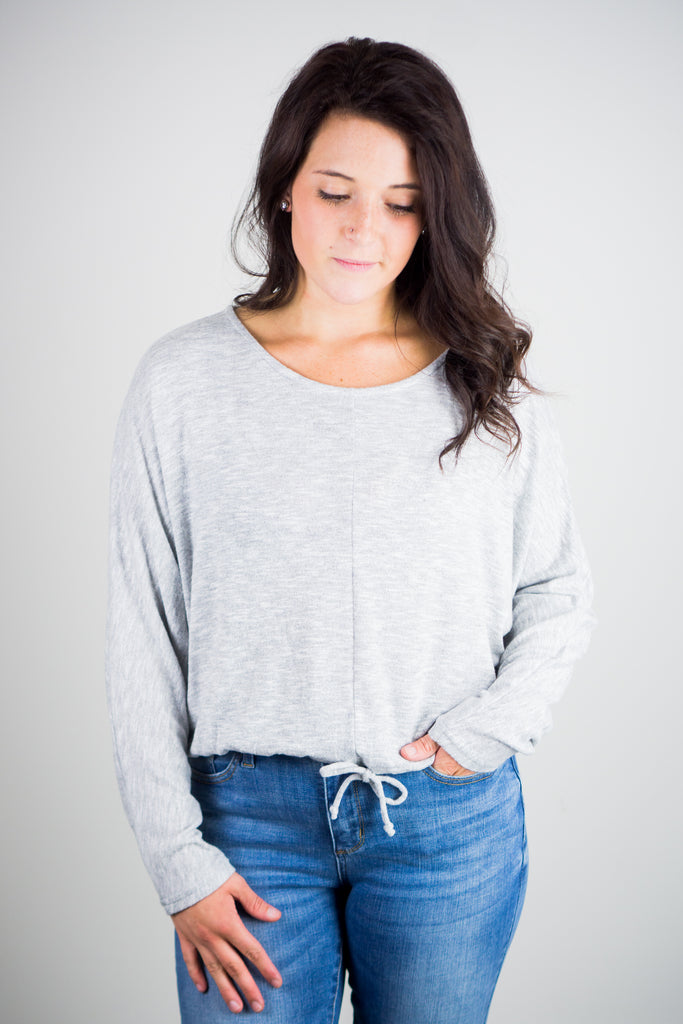 Z Supply Dollie Slub Sweater Top