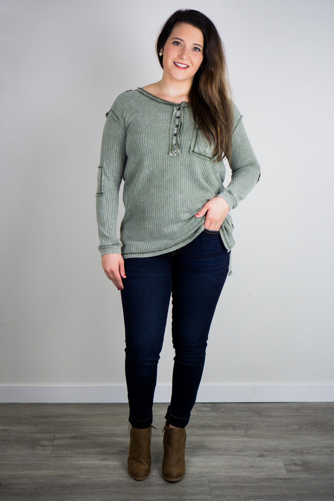 The Waves Knit Thermal Top