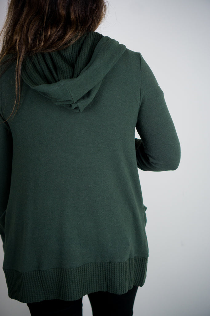 Z Supply Thermal Lined Soft Spun Cardi