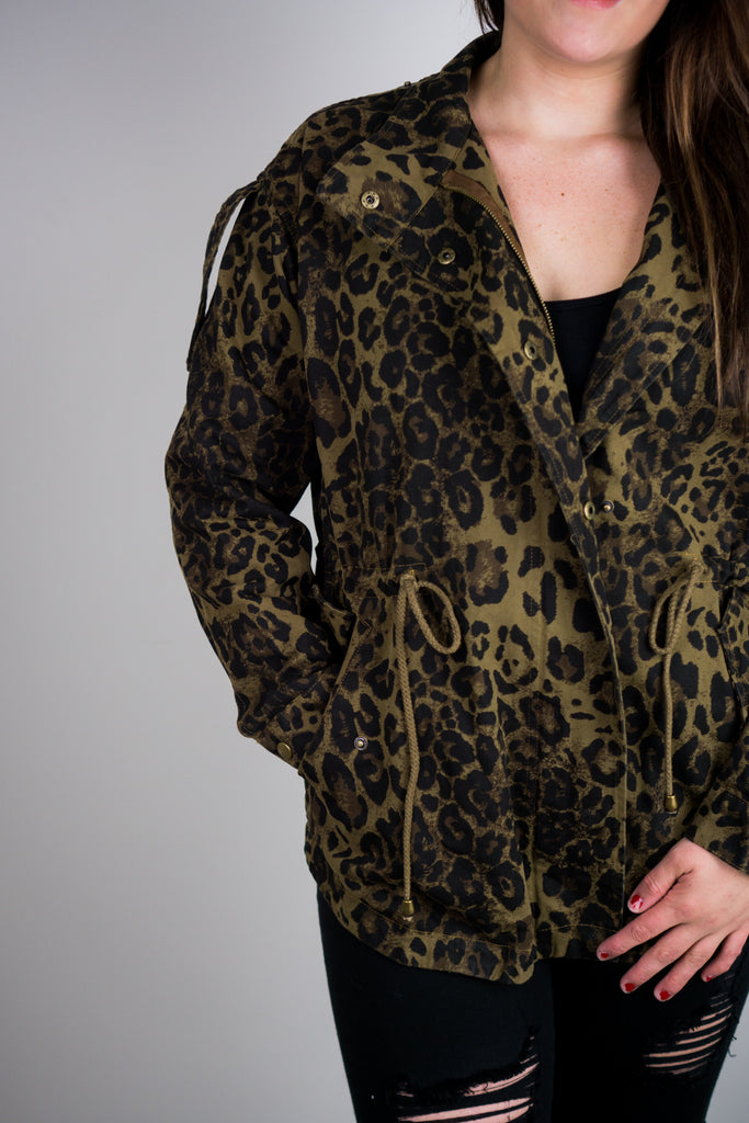 Cheetah Me Happy Jacket