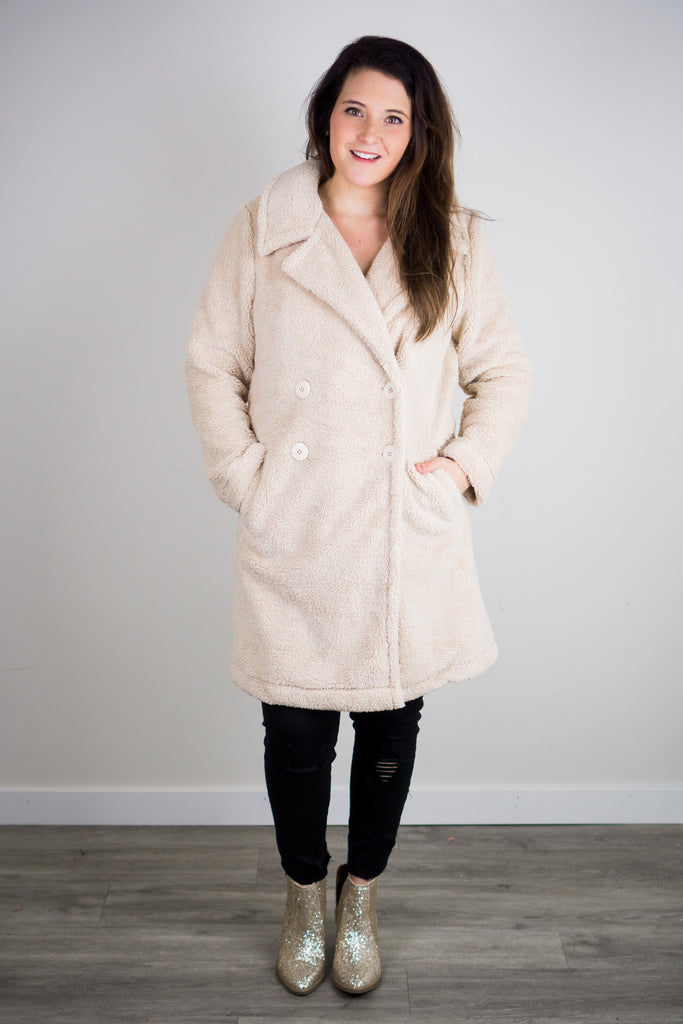 Z Supply Cozy Sherpa Coat