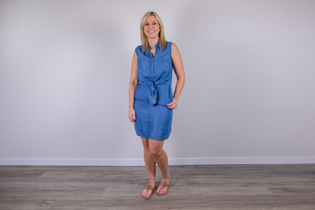 Light as a Feather Denim Dress