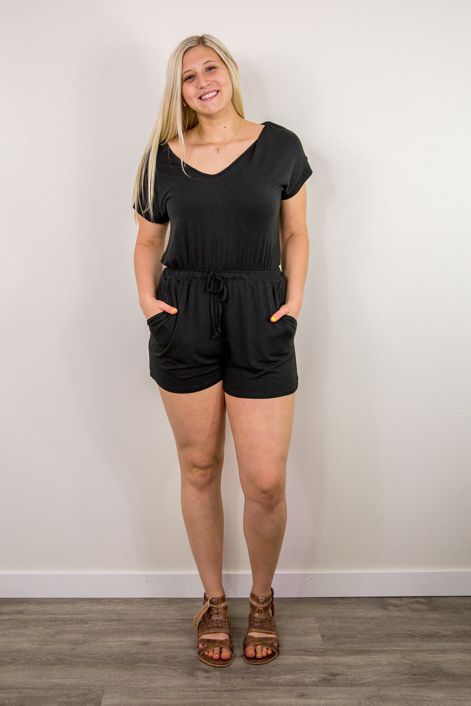 Z Supply Blaire Jersey Romper