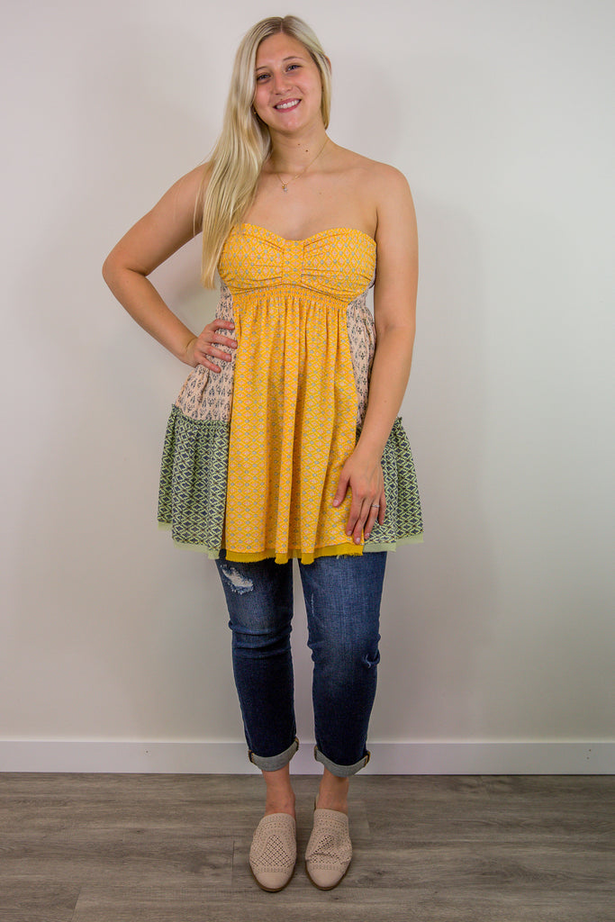 Free People Across The Sea Tunic