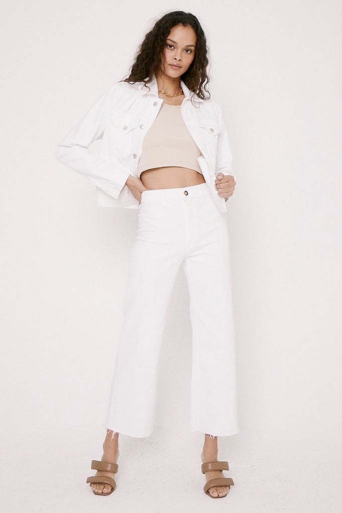 Pistola Penny High Rise Wide Leg Crop