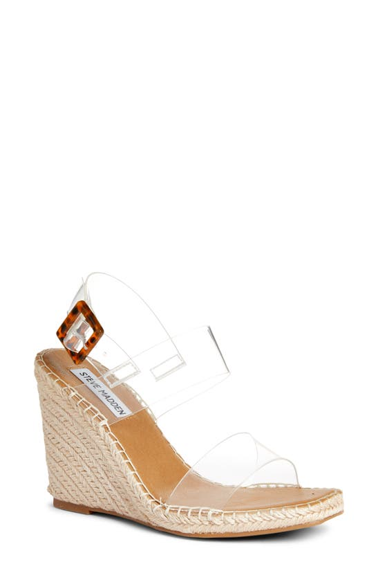Steve Madden Meridian Clear Wedge