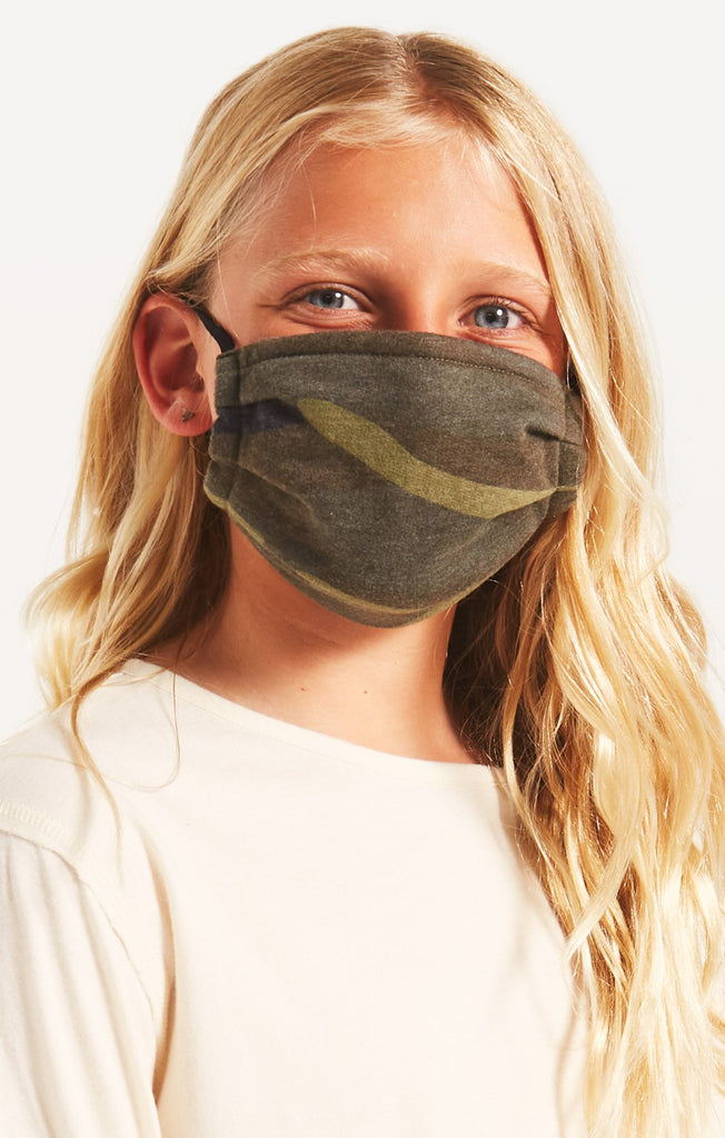 Z Supply Kids Camo Reusable Face Mask (2-Pack)