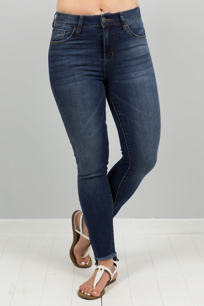 Ellie High Rise Ankle Jean