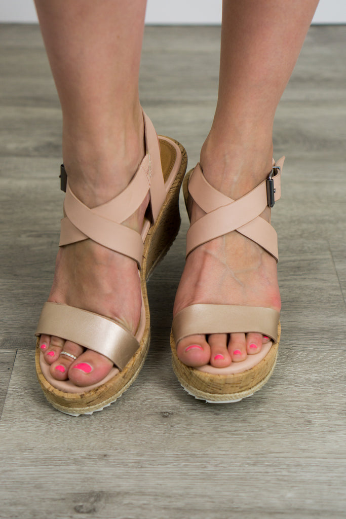 Not Rated Petal Wedge Sandal