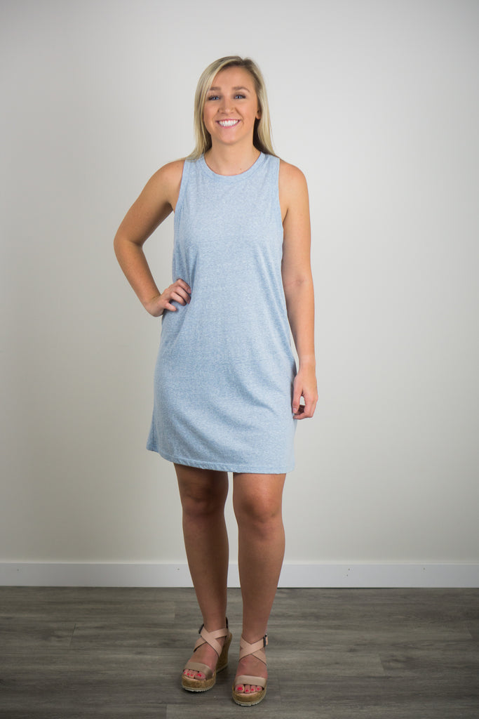 Z Supply Triblend Muscle Dress