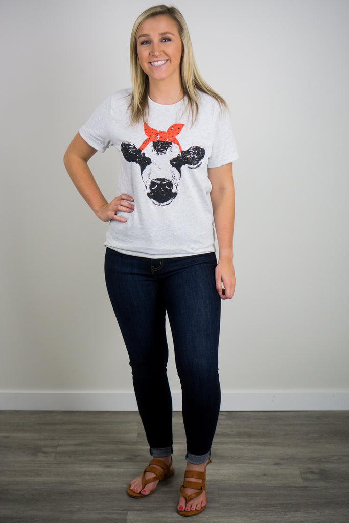 Farm Cow Graphic Tee